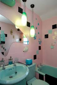 funky bathroom ideas marvelous rockabilly bathroom decor 53 for minimalist design room