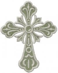 small ornate cross embroidery designs machine embroidery designs