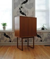 Teak Bar Cabinet Danish Teak Bar Cabinet Phylum Furniture