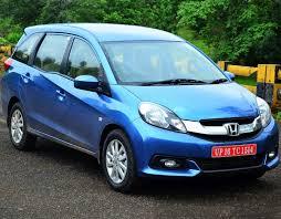 honda car price com honda launches mobilio price starts at rs 6 49 lakh rediff com