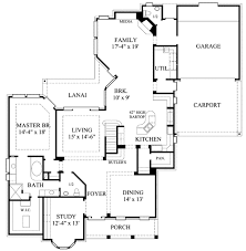 colonial style house plan 4 beds 5 00 baths 3804 sq ft plan 61 119