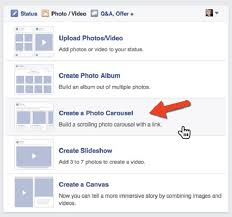 Making A Photo Album Social Media Examinerfacebook Carousel Content How To Make Your
