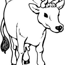coloring pages cow kids drawing and coloring pages marisa
