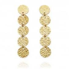 not on the high earrings scream pretty not on the high dagger threader drop