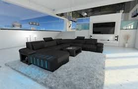 Big Sectional Sofas by Big Sectional Sofa Half Leather Half Fabric Bellagio Xxl With