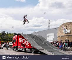 freestyle motocross ramps stunt car ramp stock photos u0026 stunt car ramp stock images alamy