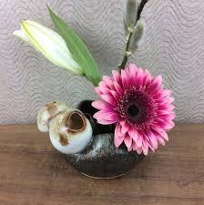 Japanese Flower Arranging Vases Ikebana Vases Terracotta Republic