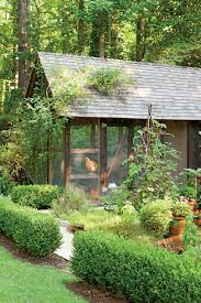 Backyard Chicken Houses by Dream Garden It Even Has A Chicken Coop Southern Living