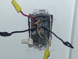 Bathroom Dimmer Light Switch How To Install Regular Light Fixture And Dimmer Switch