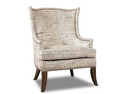 furniture nice gray living room accent chair with floral pattern