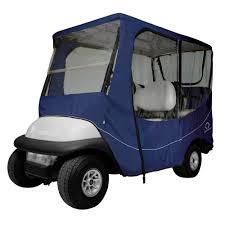 classic accessories fairway travel golf cart enclosure long roof