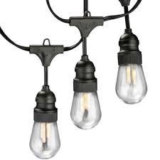 Edison Lights String by 12v 15ft Led Edison Filament Light String Kit Commercial Grade