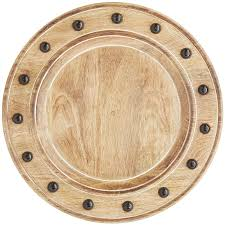 mango wood charger plate pier 1 imports