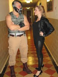 bane halloween costume my boyfriend and i as bane and cat woman