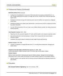 Software Developer Resume Template by Software Engineer Resume Templates Tomyumtumweb