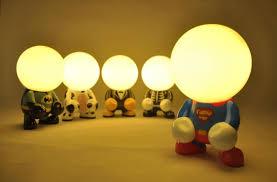 Batman Lights 2017 Led Night Light Turned Geek Superman Batman Creative Lamp Usb