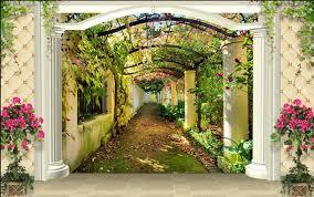 innovative garden wall murals 17 best ideas about garden mural on