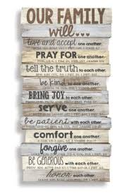 our family will wall plaque large christianbook