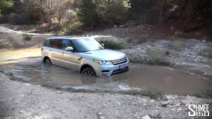 lifted range rover going off road in the range rover sport supercharged v8 youtube
