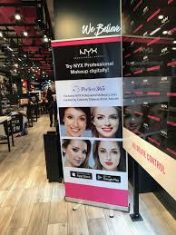 make up artist app perfect365 inc partners with nyx professional makeup to allow