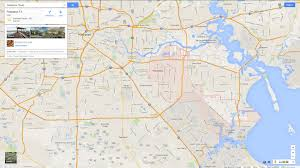 Texas City Map Pasadena Texas Map