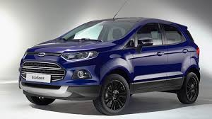 jeep ford 2017 ford ecosport compact crossover news and us sales plans