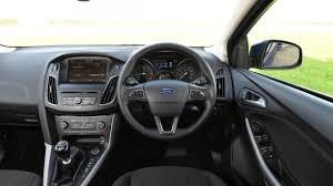 ford focus carbuyer ford focus hatchback interior dashboard satnav carbuyer