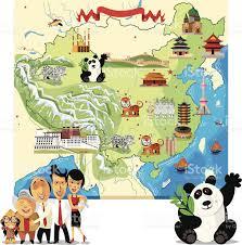 Map Of China by Cartoon Map Of China Stock Vector Art 147517652 Istock