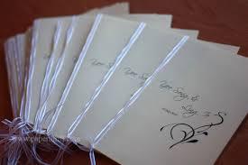wedding program book wedding program book and placecards malaysia wedding invitations