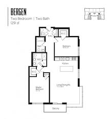 Floor Layouts Apartment Floor Plans U0026 Pricing The Vue In Hackensack Nj