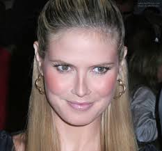 what face shape heidi klum how to create heidi klum s partial up style for mid back hair