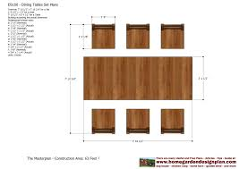 Wood Plans Outdoor Furniture by Home Garden Plans Ds100 Dining Table Set Plans Woodworking