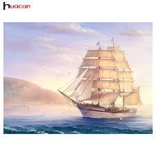 aliexpress com buy 5d diy diamond mosaic painting sailboat at