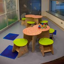 kids furniture design of greenplay butterfly activity table by