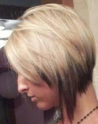 graduated layered blunt cut hairstyle creative graduated bob hair cut and partial highlight pretty designs