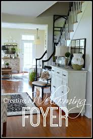 how to decorate a foyer in a home creating a welcoming foyer stonegable