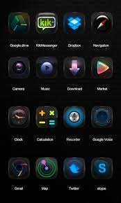 go theme launcher apk black go launcher theme android apps on play