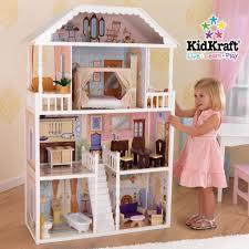 playsets kid kraft dollhouses kidkraft dollhouse with furniture