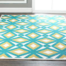 Yellow And Blue Outdoor Rug Gray And Yellow Rug Tapinfluence Co