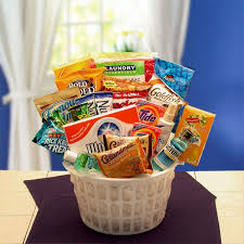 food baskets to send college care package snack care package for college kids