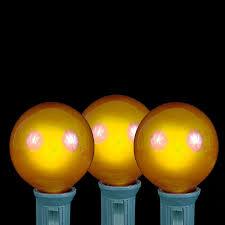 globe string lights brown wire yellow g40 globe round outdoor string light set on brown wire