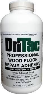 dritac 32 fl oz professional wood floor repair adhesive floor