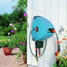 retractable garden hose reel ebay home outdoor decoration
