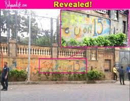fan release date was hidden in the graffiti made outside shah rukh