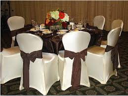 spandex chair covers rental satin linen rental