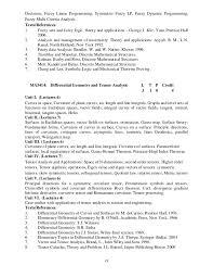 Barback Resume Sample by M Sc Syllabus