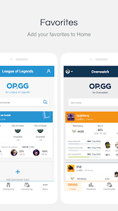 pubg op gg op gg for league and overwatch 4 4 6 apk download android