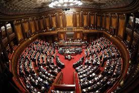 parlamento seduta comune la settimana in parlamento