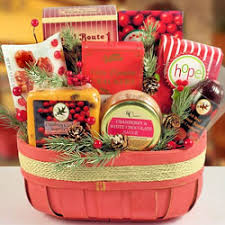 mrs claus christmas cookie basket