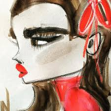 Blog Kate Zucconi Fashion Artist And Illustrator 25 Best My Art On Etsy And Instagram Images On Pinterest Acrylic
